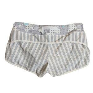 Lululemon Speed Shorts Fatbird Dot & Amica Stripe